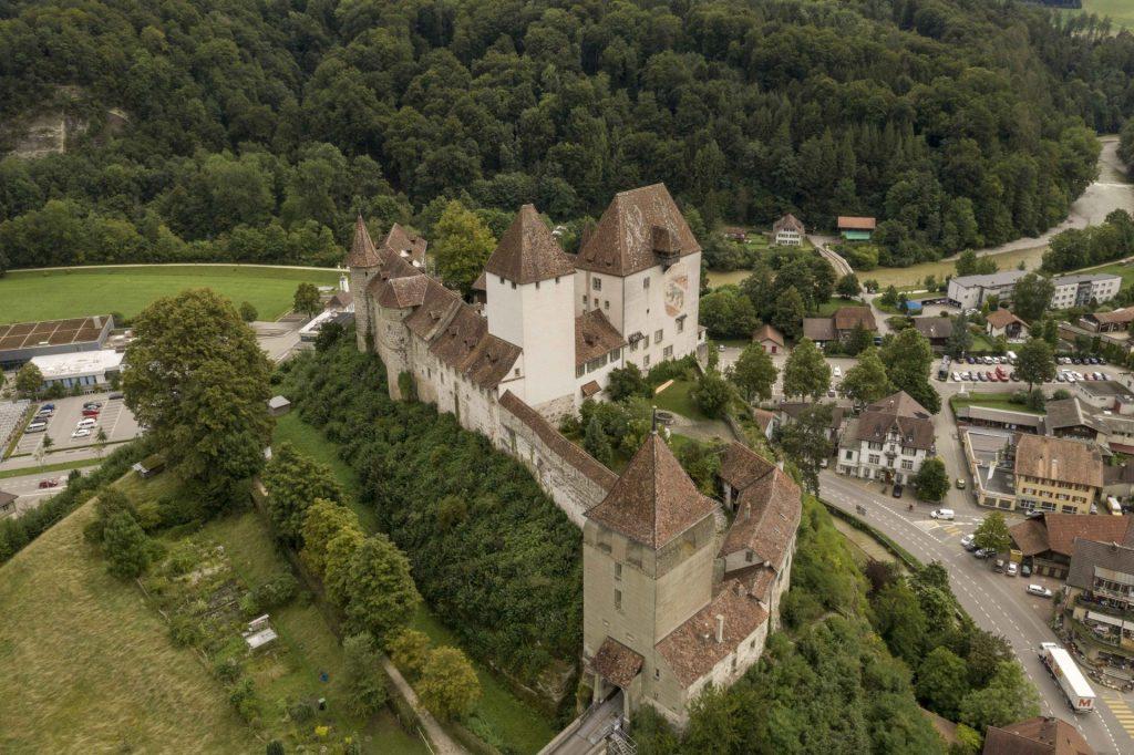Burgdorf BE, Schloss Burgdorf, © Archäologischer Dienst Bern
