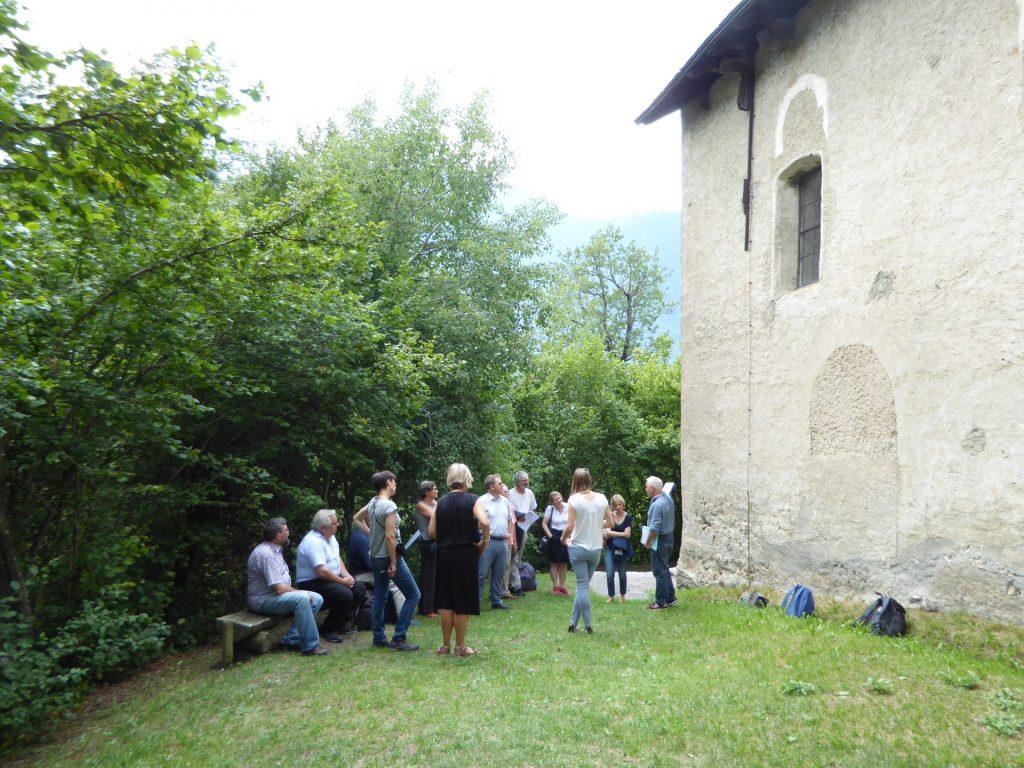 Rhäzüns GR, Kirche Sogn Gieri, © Hansjörg Frommelt