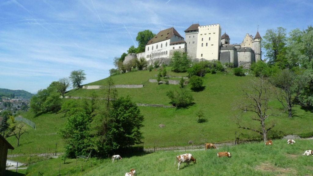 Lenzburg AG, Schloss Lenzburg, © Peter Niederhäuser