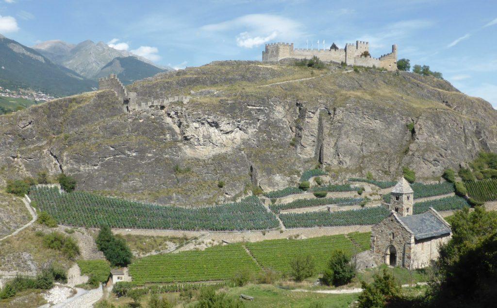 Sion VS, Château de Tourbillon, © Peter Niederhäuser